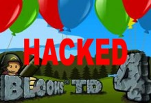 Bloons Tower Defense 4 Hacked